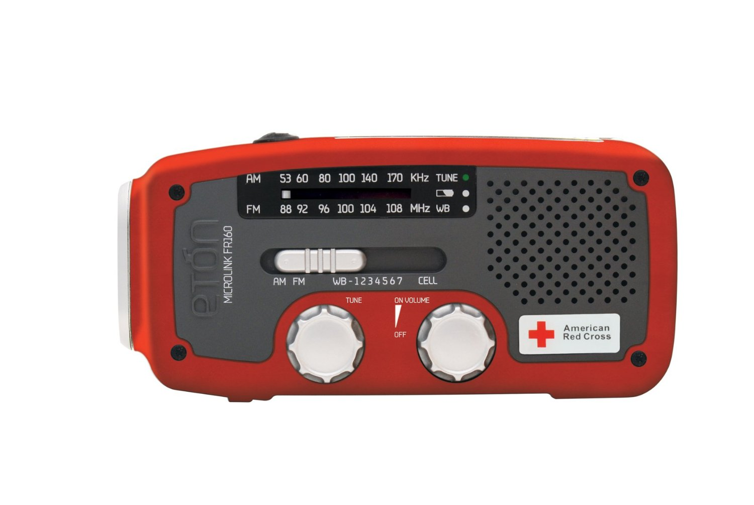 Et 243 N American Red Cross Self Powered Weather Radio With