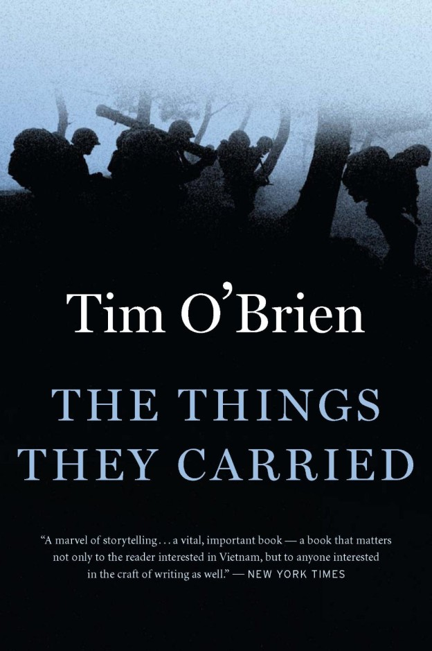 a review of the soldiers experiences and emotions in the things they carried by tim obrien Download the things they carried pdf book by tim o'brien online like for soldiers, then the things they carried pdf reviews of tim o'brien the things they.