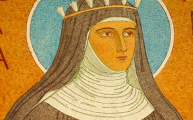 a biography of saint hildegard a german saint St hildegard of bingen was a german benedictine nun of the 12th  she was  born around 1098, the youngest of 10 children of noble parents.