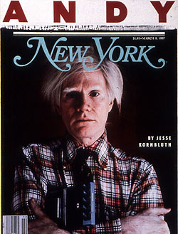 Andy Warhol Headbutler